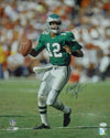 Randall Cunningham Autographed Philadelphia Eagles 16x20 Photo (Green Solo) JSA PSM-Powers Sports Memorabilia