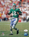 Randall Cunningham Autographed Philadelphia Eagles 8x10 Photo (Solo) JSA PSM-Powers Sports Memorabilia