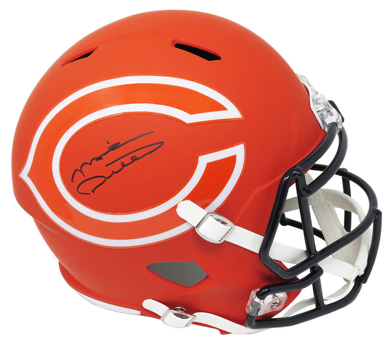 Mike Ditka Signed Chicago Bears AMP Alternate Riddell Speed Full Size Replica Helmetá PSM-Powers Sports Memorabilia