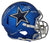 Emmitt Smith & Tony Dorsett Signed Dallas Cowboys Blaze Replica Helmet BAS PSM-Powers Sports Memorabilia