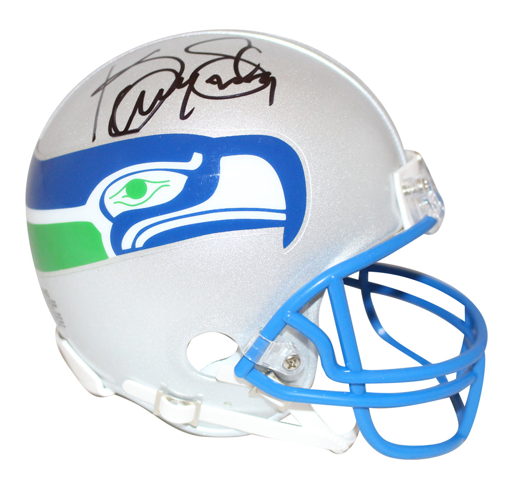 Kenny Easley Autographed/Signed Seattle Seahawks Mini Helmet BAS PSM