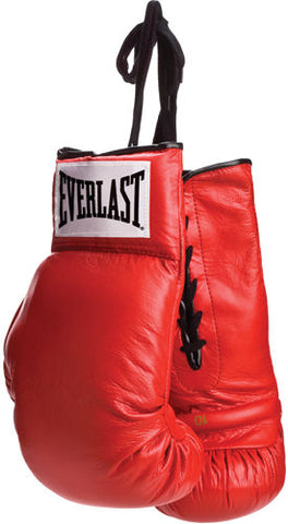 Everlast Leather Pair of Boxing Glove PSM-Powers Sports Memorabilia