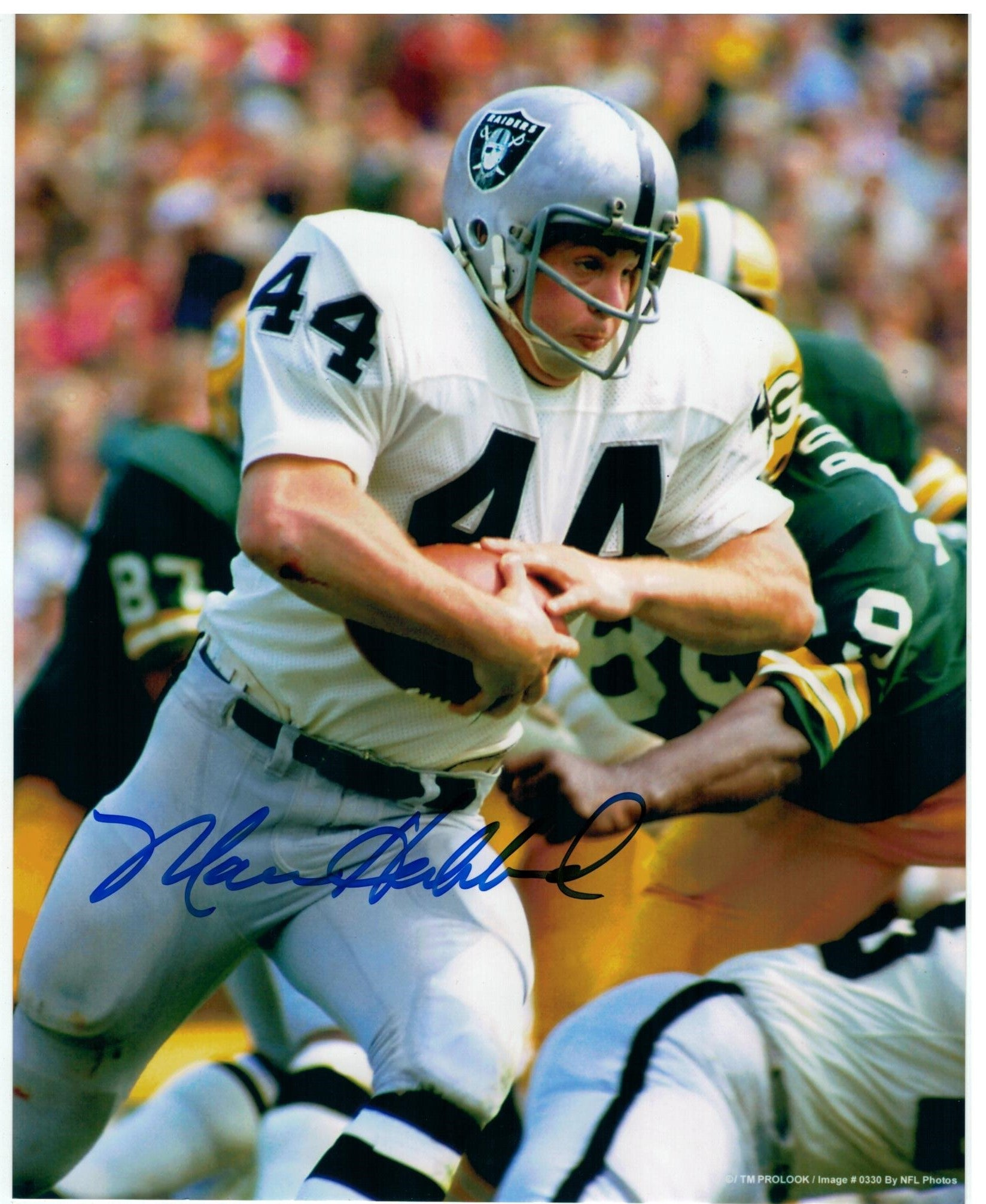 Marv Hubbard Oakland Raiders Autographed 8x10 Photo PSM