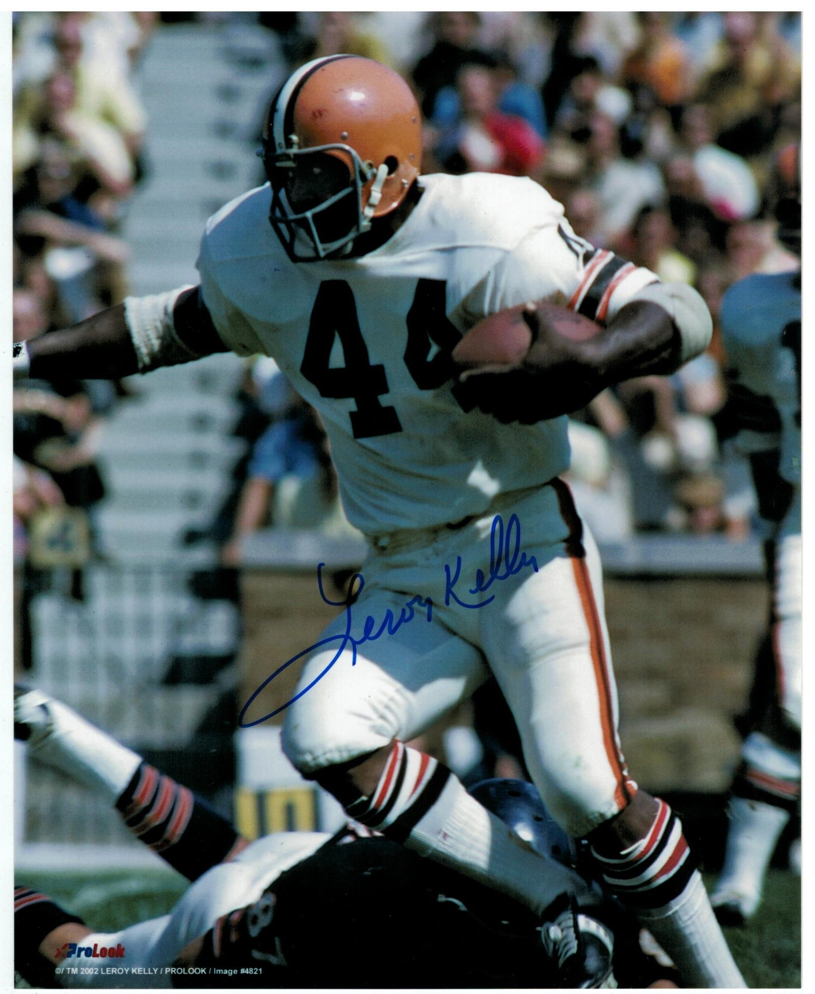 Leroy Kelly Cleveland Browns Autographed 8x10 Photo PSM-Powers Sports Memorabilia