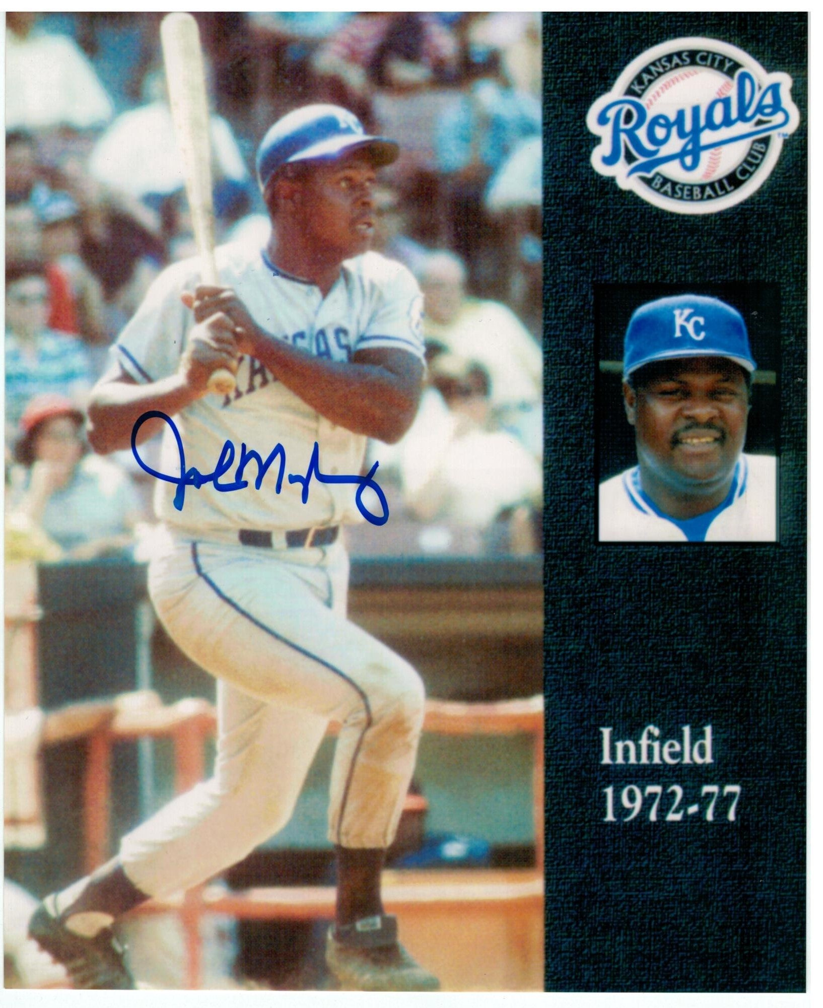 John Mayberry Kansas City Royals Autographed 8x10 Photo PSM-Powers Sports Memorabilia