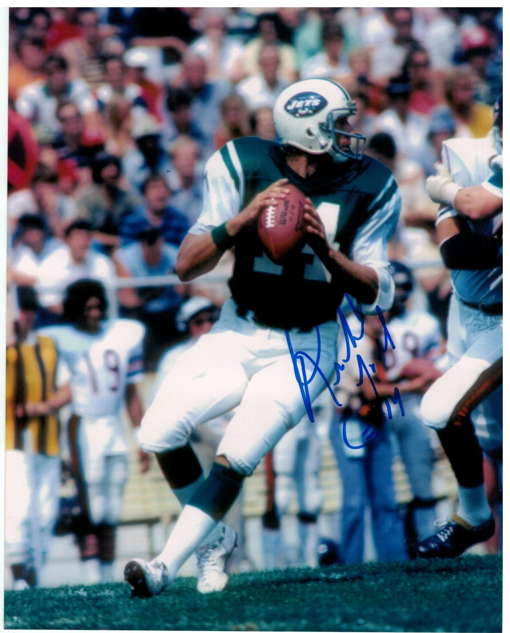 Richard Todd New York Jets Autographed 8x10 Photo PSM-Powers Sports Memorabilia