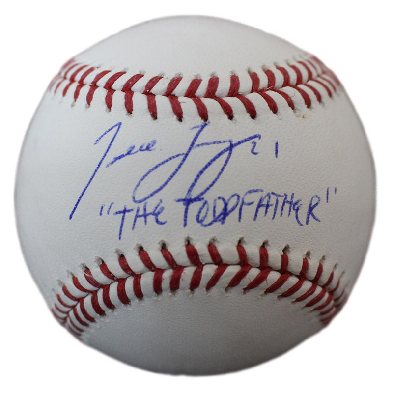 Todd Frazier Autographed Chicago White Sox OML Baseball Toddfather JSA PSM-Powers Sports Memorabilia