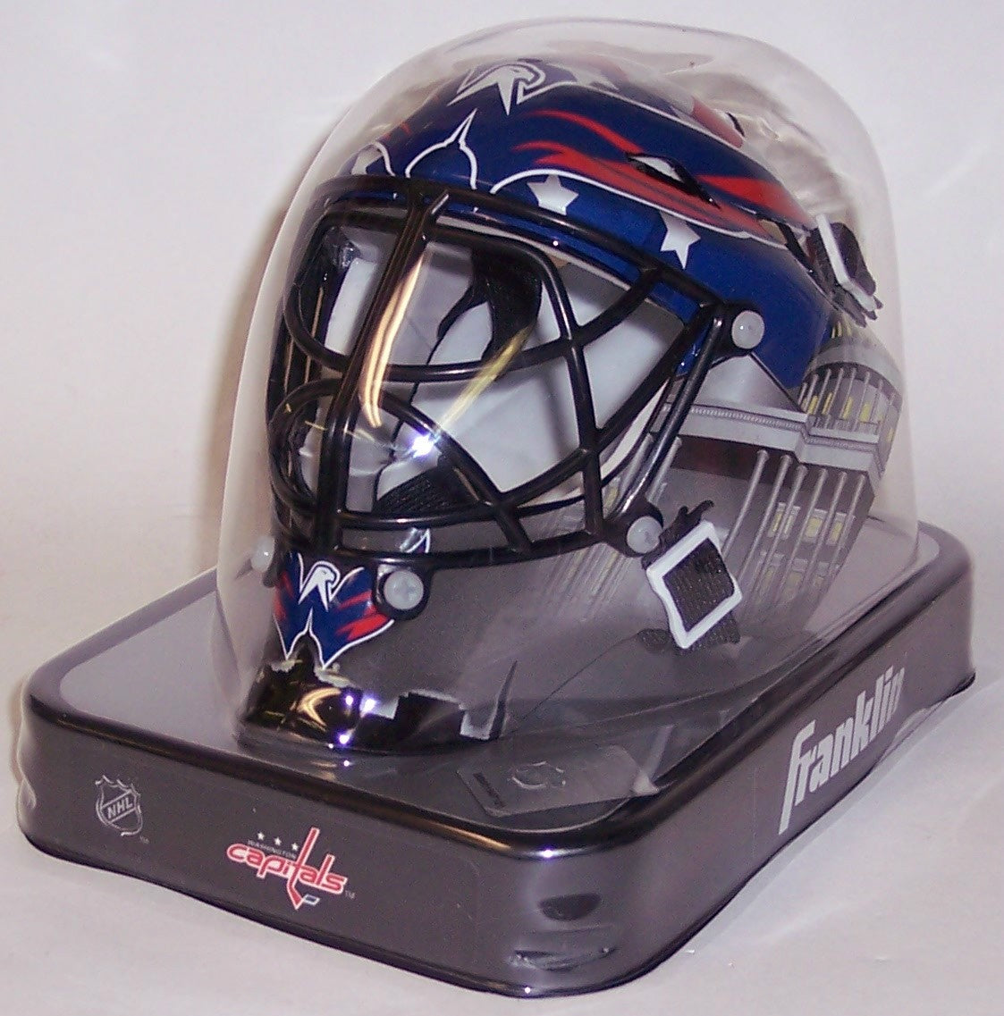 Washington Capitals Franklin Sports NHL Mini Goalie Mask PSM-Powers Sports Memorabilia