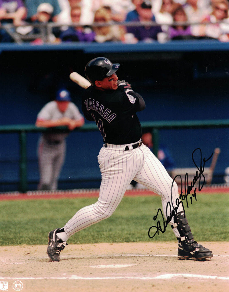 Joe Girardi Autographed/Signed Colorado Rockies 8x10 Photo BAS PF PSM-Powers Sports Memorabilia