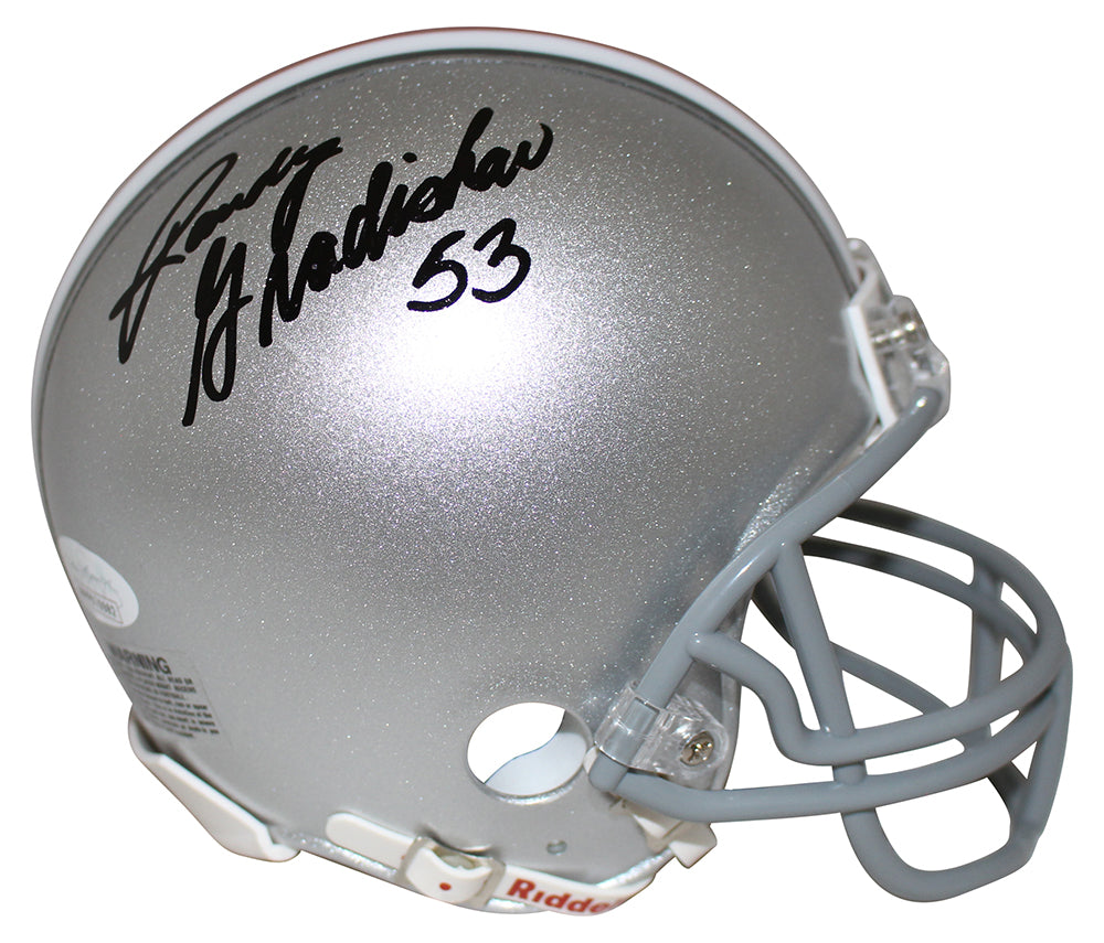 Randy Gradishar Autographed/Signed Ohio State Buckeyes Mini Helmet JSA PSM-Powers Sports Memorabilia