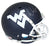 Will Grier Signed West Virginia Mountaineers Blue Replica Helmet BAS PSM-Powers Sports Memorabilia