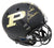 Bob Griese Signed Purdue Boilermakers Black Riddell Full Size Replica Helmet PSM-Powers Sports Memorabilia
