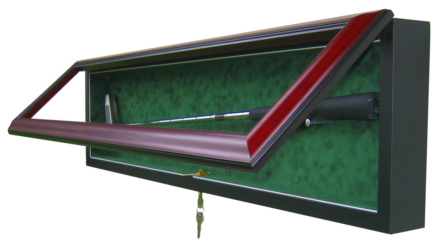 GOLF PUTTER DISPLAY CASE-Powers Sports Memorabilia