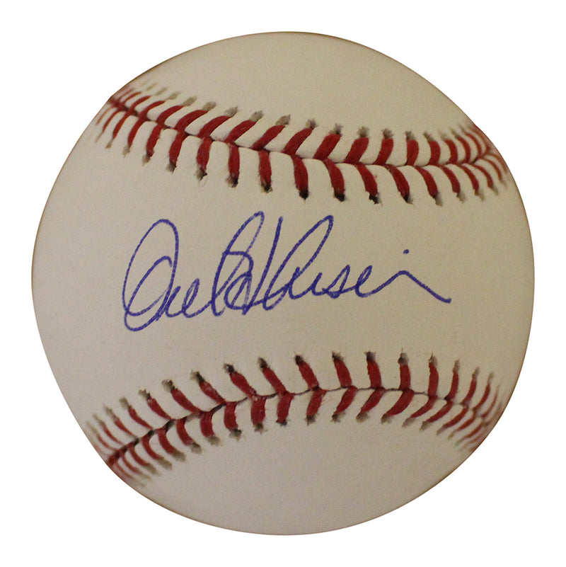 Orel Hershiser Autographed/Signed Los Angeles Dodgers OML Baseball BAS PSM-Powers Sports Memorabilia