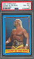 Hulk Hogan Champ in the Ring 1987 Topps WWF Wrestling Card #38 Graded PSA 8-Powers Sports Memorabilia