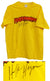 Hulk Hogan Signed Hulkamania Yellow T-Shirt PSM-Powers Sports Memorabilia