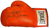 Larry Holmes Signed Everlast Red Boxing Glove w/Easton Assassin PSM-Powers Sports Memorabilia