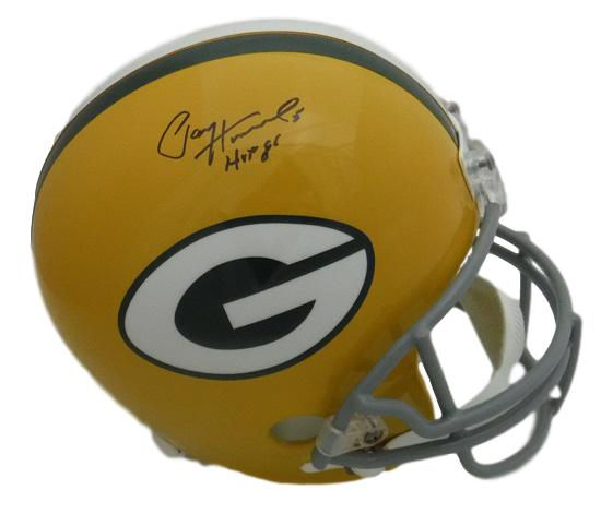 4f9fe3bf894 Paul Hornung Autographed Green Bay Packers Full Size Replica Helmet HOF JSA  PSM-Powers Sports