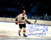 Bobby Hull Signed Blackhawks Horizontal Action 8x10 Photo w/HOF 1983 PSM-Powers Sports Memorabilia