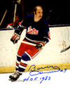 Bobby Hull Signed Winnipeg Jets 8x10 Photo w/HOF 1983 PSM-Powers Sports Memorabilia