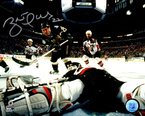 Brett Hull Signed Dallas Stars 1999 Stanley Cup Winning Goal 8x10 Photo PSM