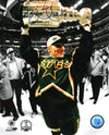 Brett Hull Signed Dallas Stars 1999 Stanley Cup Trophy 8x10 Photo PSM-Powers Sports Memorabilia