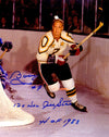 Bobby Hull Signed All Star Game Action 11x14 Photo w/12x NHL All Star, HOF 1983 PSM-Powers Sports Memorabilia