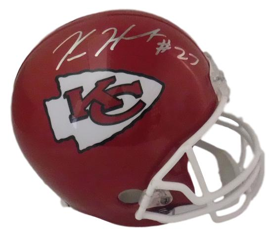Kareem Hunt Autographed Kansas City Chiefs Replica Helmet JSA PSM-Powers Sports Memorabilia