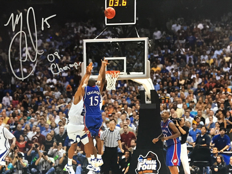 Mario Chalmers Autographed 16x20 Photo (JSA) PSM-Powers Sports Memorabilia