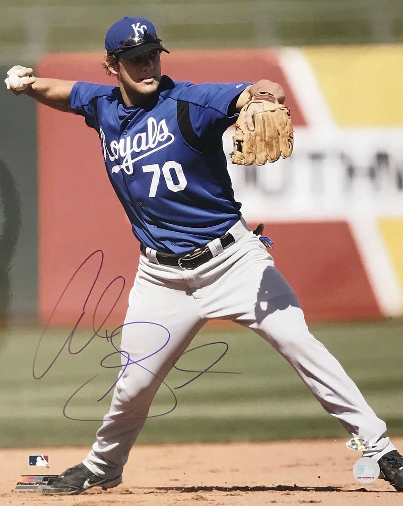 Alex Gordon Autographed Kansas City Royals 16x20 Photo PSM-Powers Sports Memorabilia