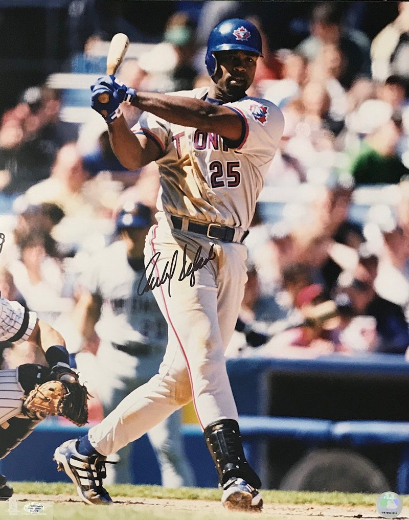Carlos Delgado Autographed Toronto Blue Jays 16x20 Photo PSM-Powers Sports Memorabilia