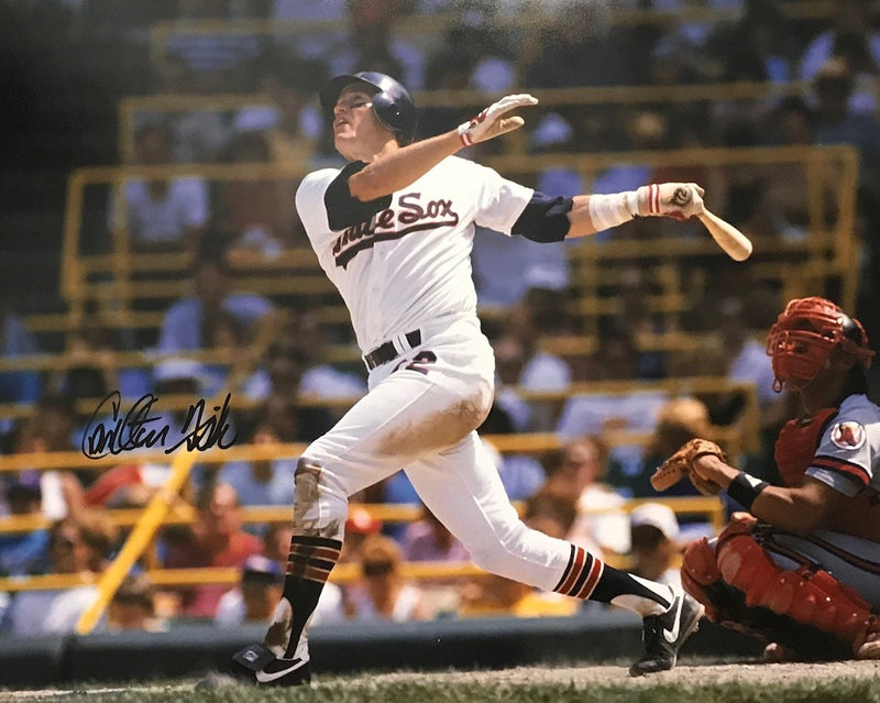 Carlton Fisk Autographed Chicago White Sox 16x20 Photo PSM-Powers Sports Memorabilia