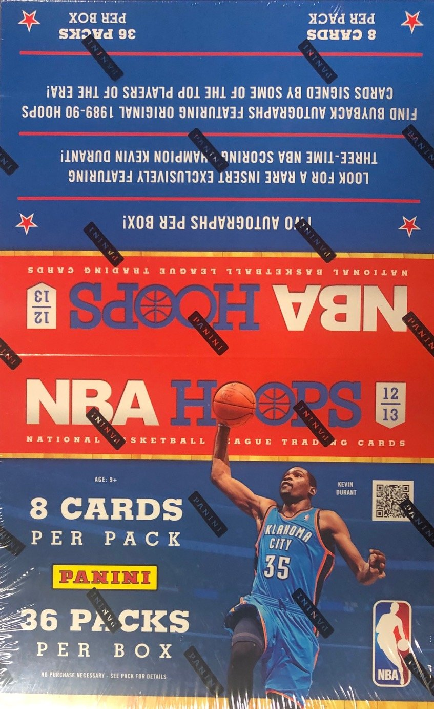 2012-13 Panini NBA Hoops Basketball Hobby Wax Box PSM-Powers Sports Memorabilia
