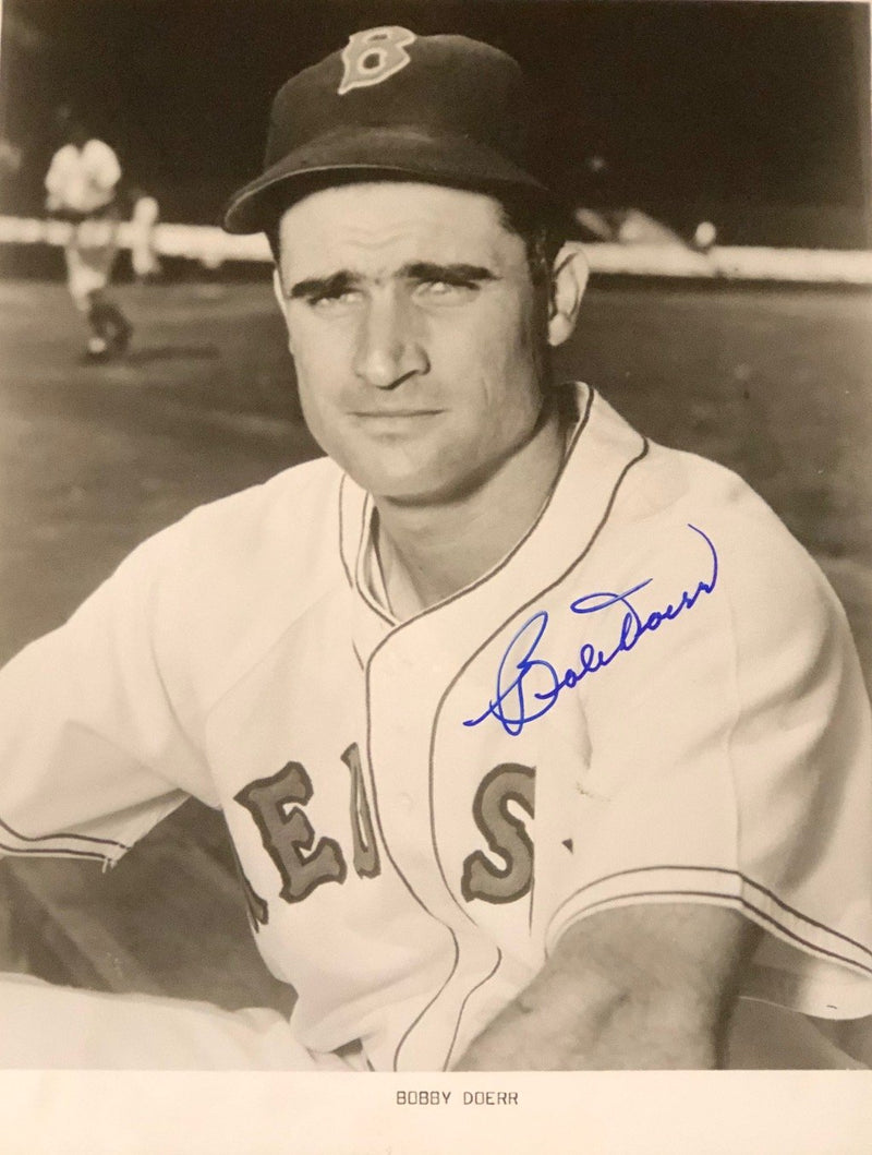 Bobby Doerr Autographed 8x10 Photo PSM-Powers Sports Memorabilia