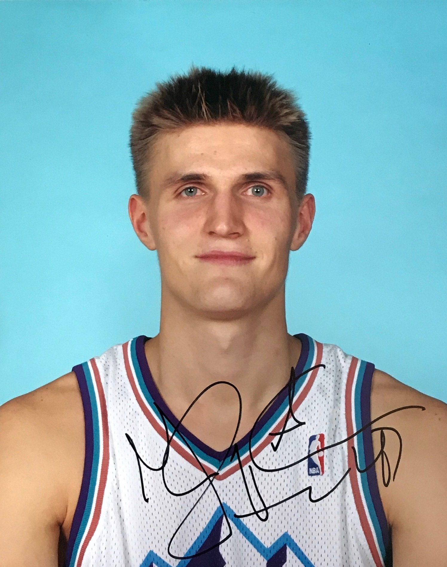 Andrei Kirilenko Autographed 8x10 Photo Utah Jazz PSM-Powers Sports Memorabilia