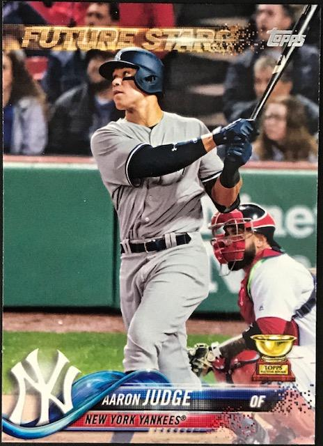 Aaron Judge 2018 Topps Series One Card PSM-Powers Sports Memorabilia