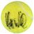 Mats Wilander Autographed Wilson 1 Tennis Ball PSM-Powers Sports Memorabilia