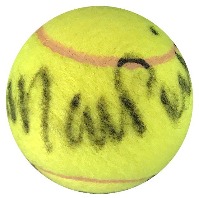 Mary Pierce Autographed Penn 4 Tennis Ball PSM-Powers Sports Memorabilia