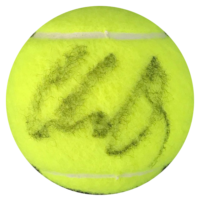 Caroline Wozniacki Autographed Wilson US Open 4 Tennis Ball PSM-Powers Sports Memorabilia