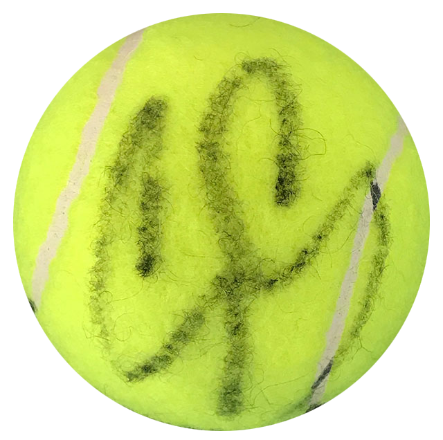 Guillermo Coria Autographed Penn 2 Tennis Ball PSM-Powers Sports Memorabilia