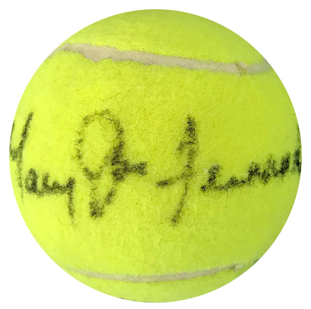 Mary Jo Fernandez Autographed Wilson 3 Tennis Ball PSM-Powers Sports Memorabilia