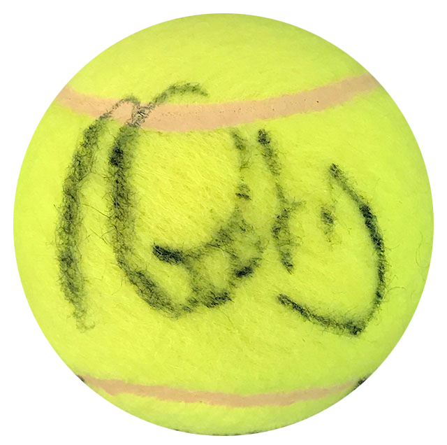 Brian Gottfried Autographed Penn 4 Tennis Ball PSM-Powers Sports Memorabilia