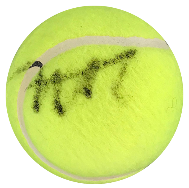 David Nalbandian Autographed Wilson US Open 1 Tennis Ball PSM-Powers Sports Memorabilia