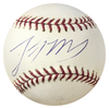 Lastings Milledge Autographed Official Major League Baseball (Steiner) PSM-Powers Sports Memorabilia