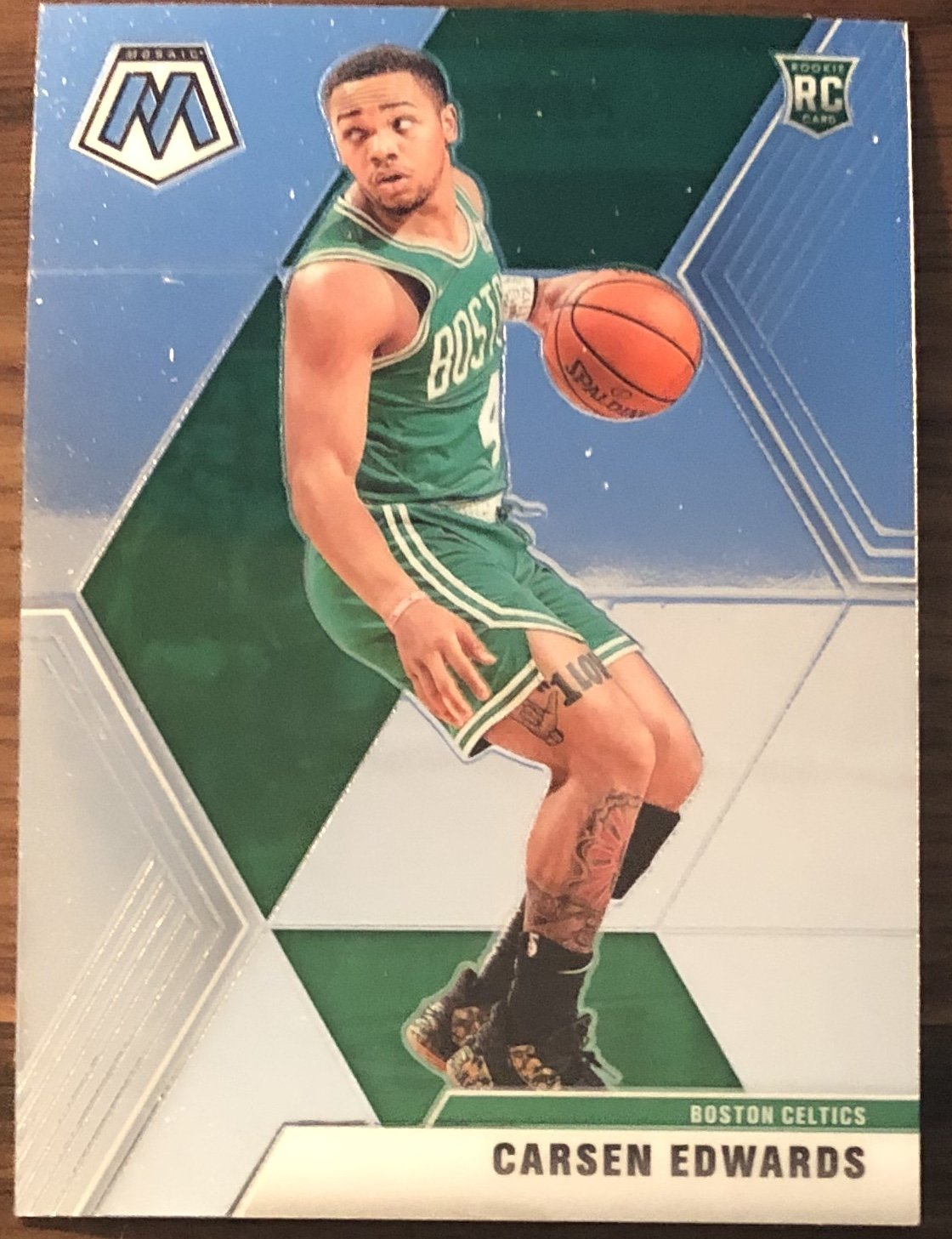 Carsen Edwards 2019-20 Panini Mosaic Rookie Card PSM-Powers Sports Memorabilia