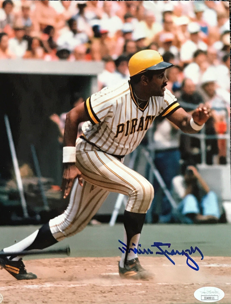 Willie Stargell Autographed 8x10 Baseball Photo (JSA) PSM-Powers Sports Memorabilia