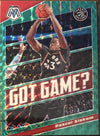 Pascal Siakam 2019-20 Panini Mosaic Green Prizm Got Game? Insert Card PSM-Powers Sports Memorabilia