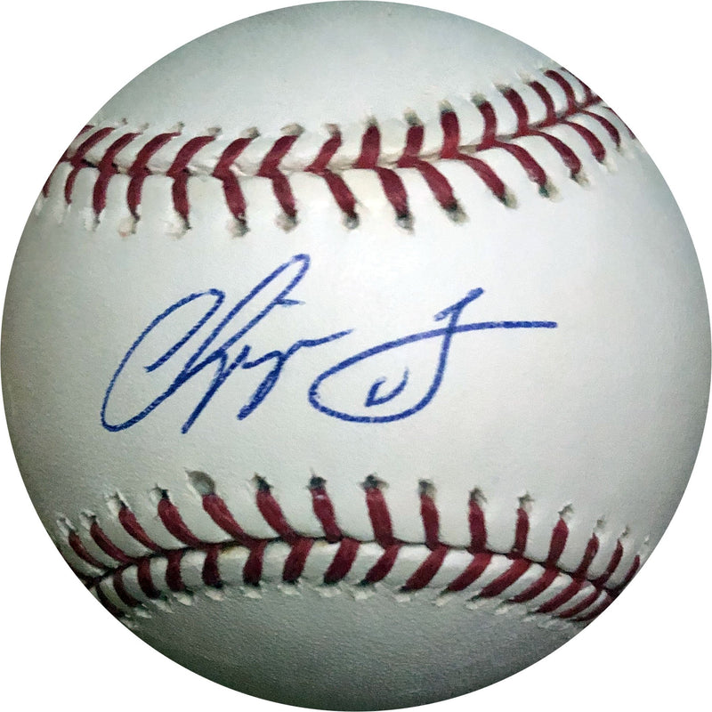 Chipper Jones Autographed Baseball (JSA) PSM-Powers Sports Memorabilia