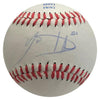 Lucas Duda Autographed Official League Baseball PSM-Powers Sports Memorabilia