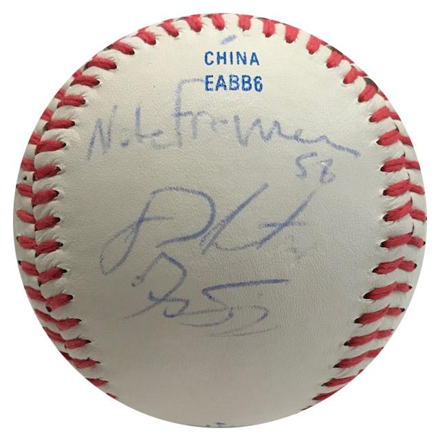 Houston Astros Multi Autographed Official League Baseball PSM-Powers Sports Memorabilia